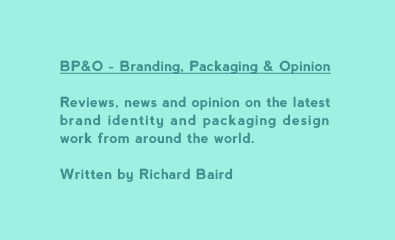 Reviews, news and opinion on the latest brand identity and packaging design work from around the world. Written by Richard Baird