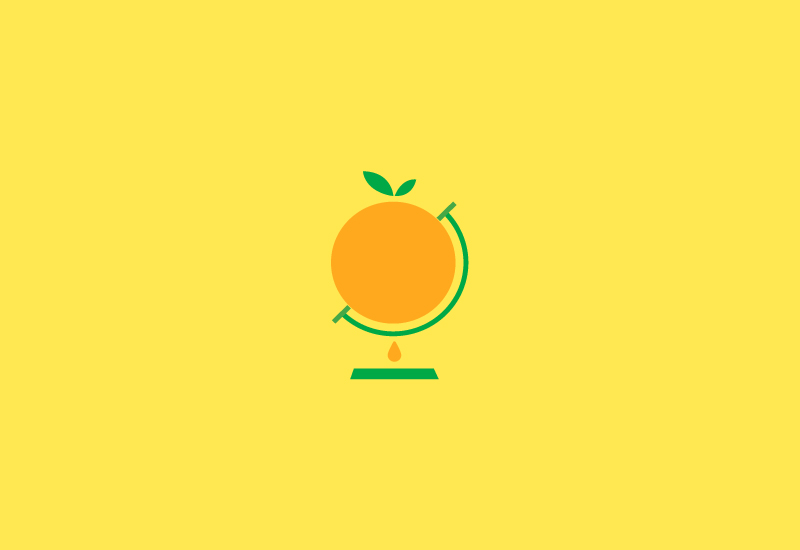 Fruit For Juice logo design by freelance British designer Richard Baird