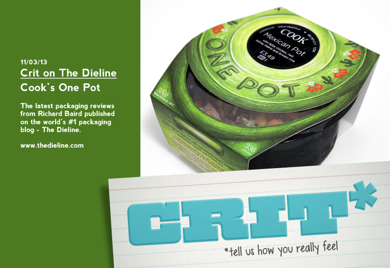 Packaging Review on The Dieline: Cook's One Pot