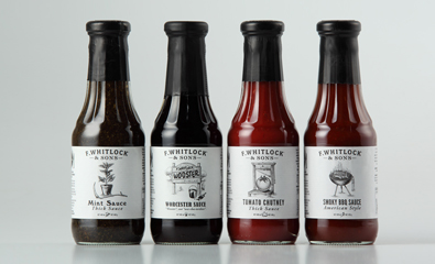 Packaging design for F. Whitlock & Sons created by Marx Design