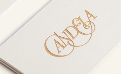 Logo and Print for Candela by RoAndCo
