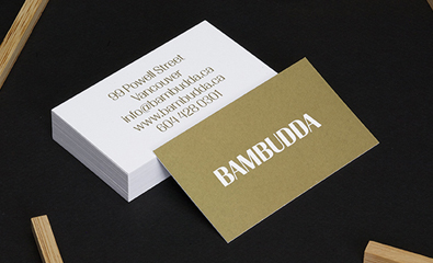 Bambudda by Post Projects on BP&O