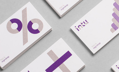Logo, stationery and website design for Intu by Heydays Intu by Heydays
