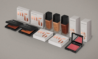 Branding and packaging for Maréna Beauté by We Are Bold