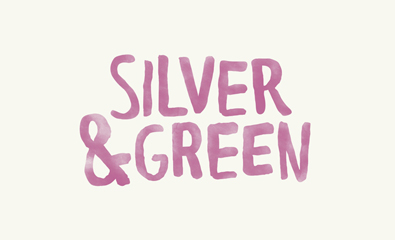 Silver & Green designed by Salad Creative on BP&O