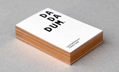 Dadadum designed by Demian Conrad Design on BP&O