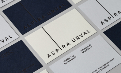 Aspira Urval designed by BVD on BP&O