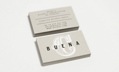 Buena C designed by by Tres Tipos Gráficos on BP&O