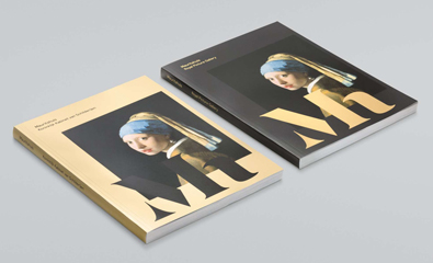Mauritshuis designed by Studio Dumbar on BP&O