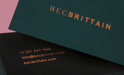 Bec Brittain designed by Lotta Nieminen on BP&O