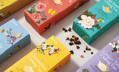Daebeté Scented Tea designed by Victor Design on BP&O