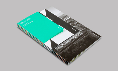 Here East Brand Identity designed by dn&co. featured on BP&O