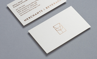 Merchants of Beverage designed by Manual