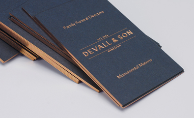 Devall & Son designed by Parent on BP&O