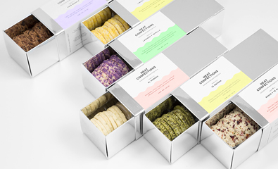 Neat Confections designed by Anagrama on BP&O