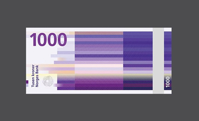 Norway's New Banknotes by Snøhetta and The Metric System on BP&O
