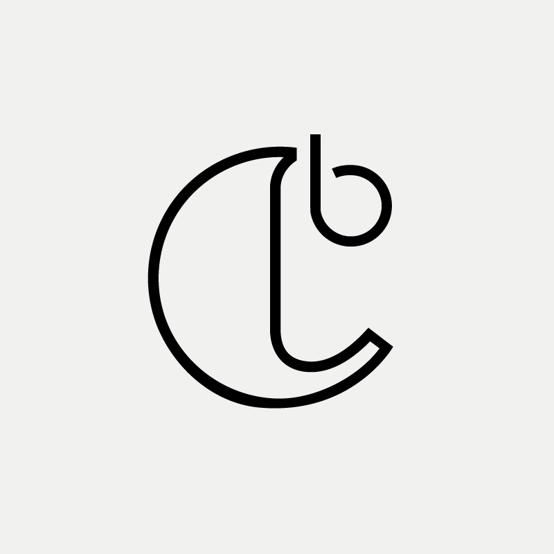 CB Modern monogram by British freelance logo designer Richard Baird - richardbaird.com