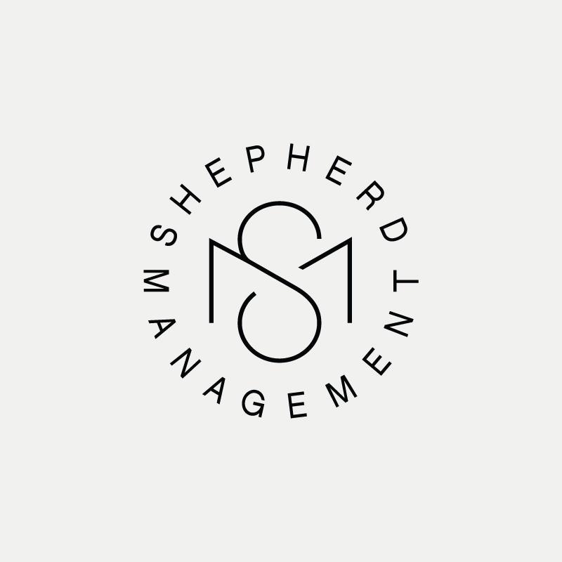 SM Contemporary monogram by British freelance logo designer Richard Baird - richardbaird.com