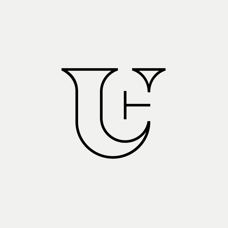 TUC Monogram by designer Richard Baird
