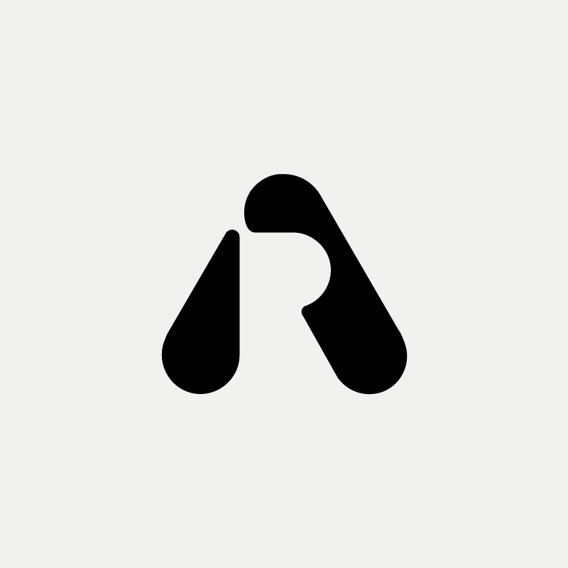AR Monogram design by Richard Baird
