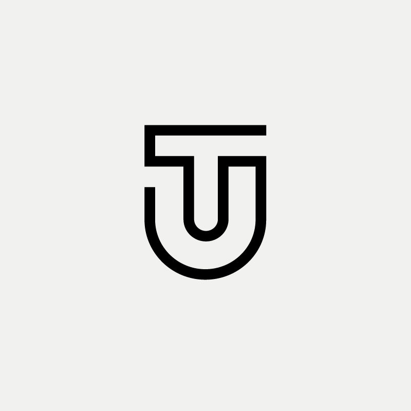 TU Monogram by Logo Designer Richard Baird